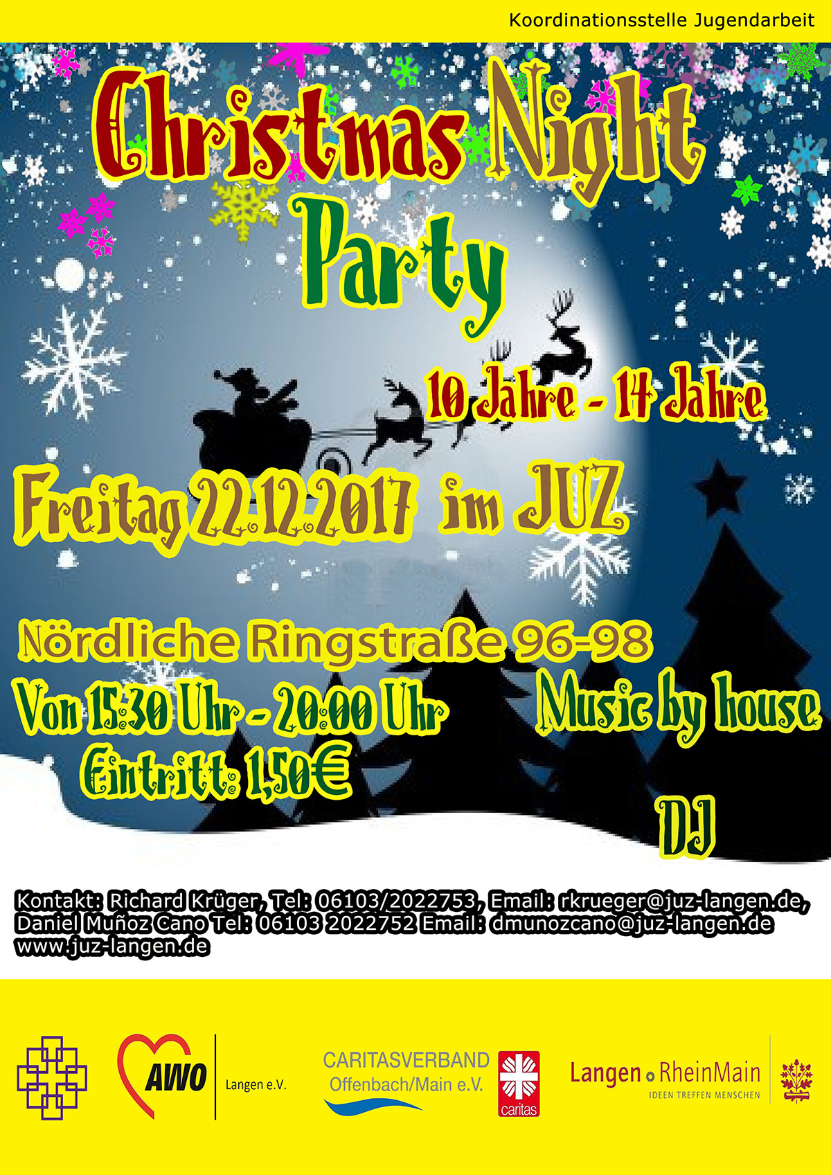 Christmas Night Party 2017 ende